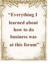 Testimonial for North Shore Business Forum